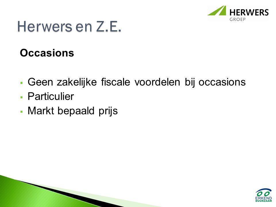 Herwers en Z.E. Occasions