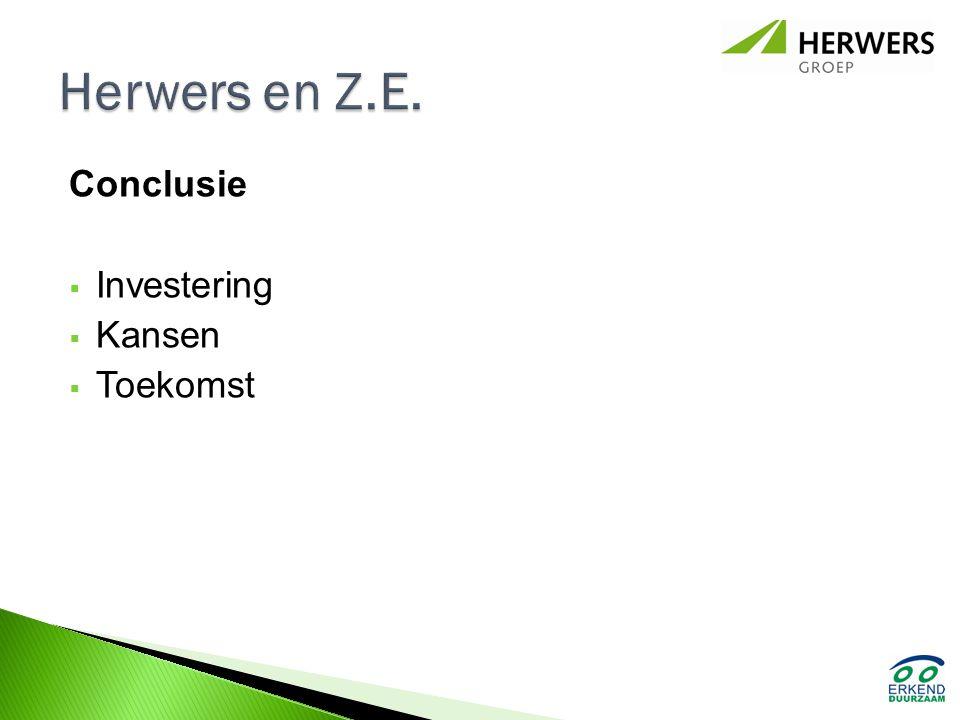 Herwers en Z.E. Conclusie Investering Kansen Toekomst