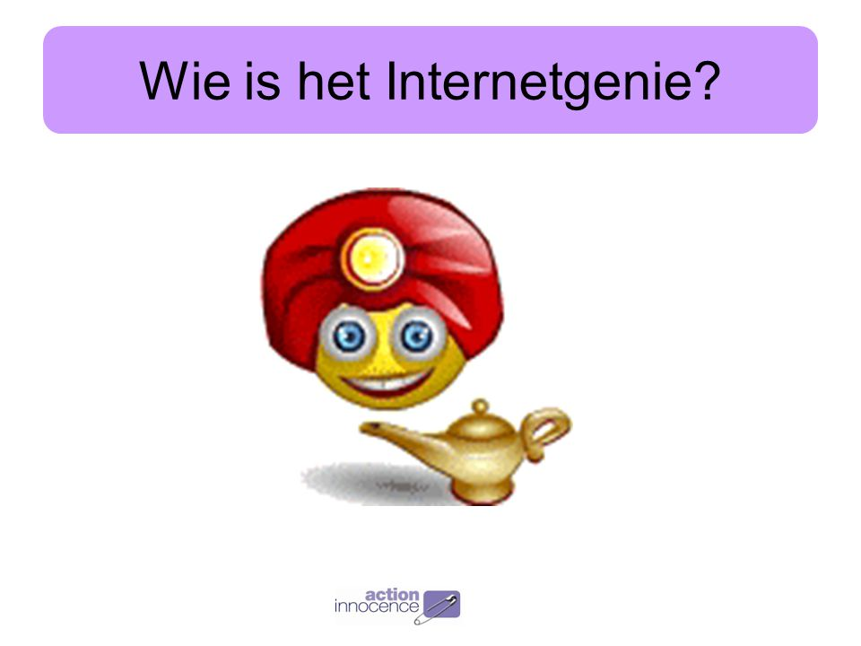Wie is het Internetgenie