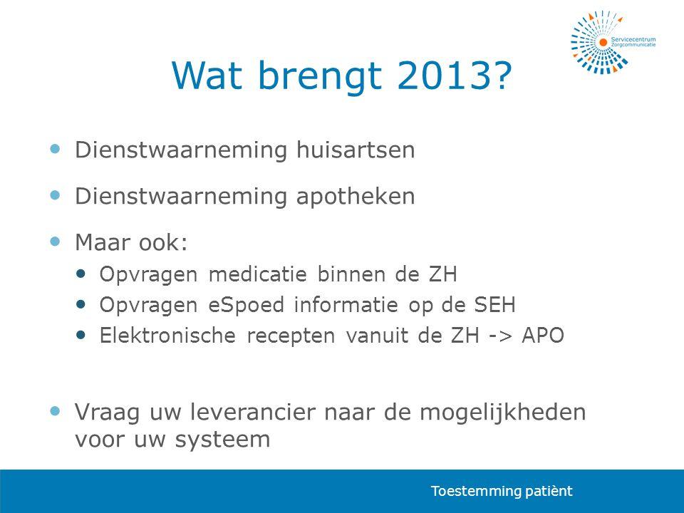 Wat brengt 2013 Dienstwaarneming huisartsen