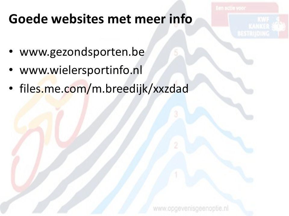 Goede websites met meer info