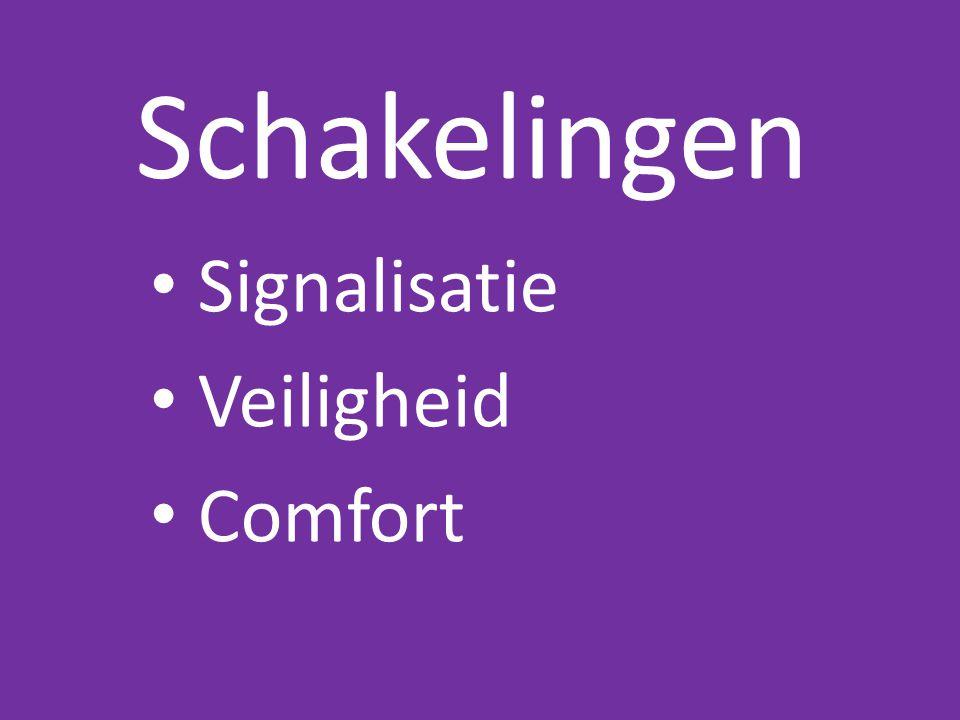 Signalisatie Veiligheid Comfort