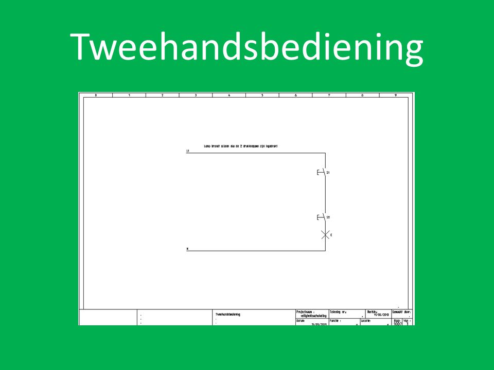 Tweehandsbediening
