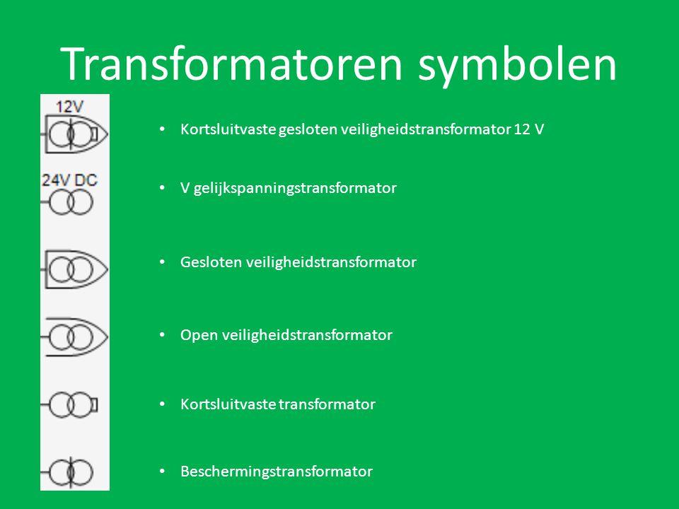Transformatoren symbolen