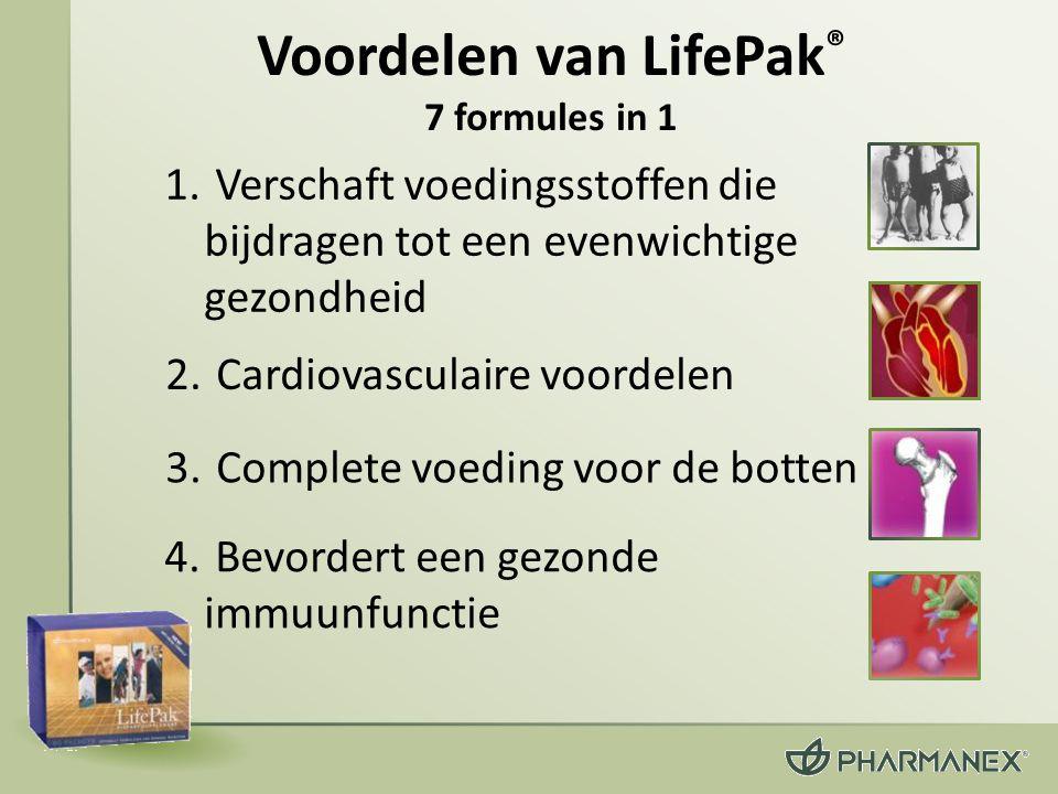 Voordelen van LifePak® 7 formules in 1