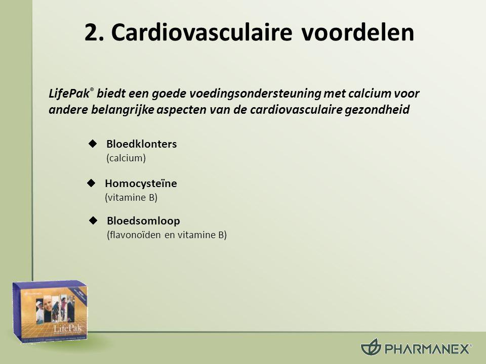 2. Cardiovasculaire voordelen