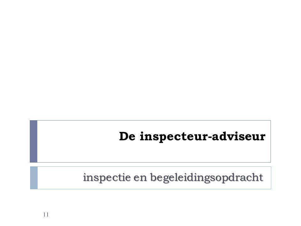 De inspecteur-adviseur