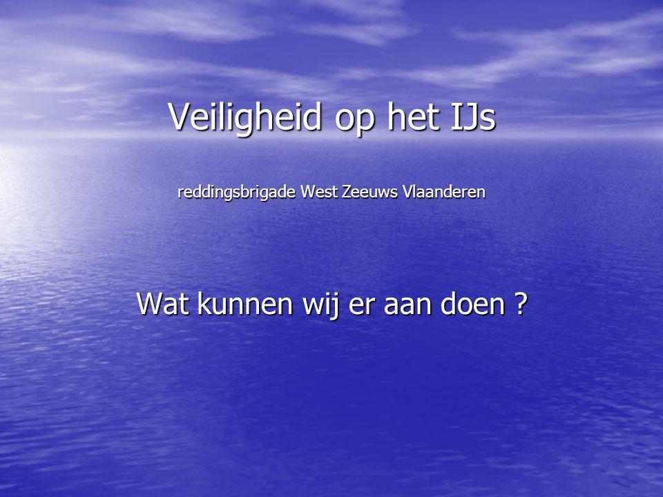 Veiligheid op het IJs reddingsbrigade West Zeeuws Vlaanderen