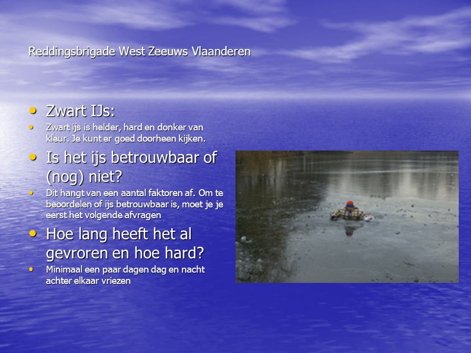 Reddingsbrigade West Zeeuws Vlaanderen