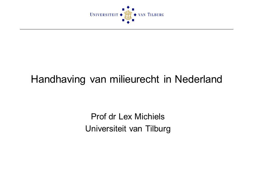 Handhaving van milieurecht in Nederland