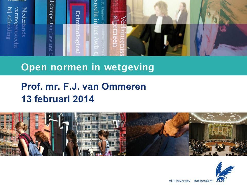 Open normen in wetgeving