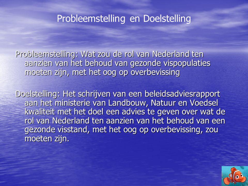 Probleemstelling en Doelstelling