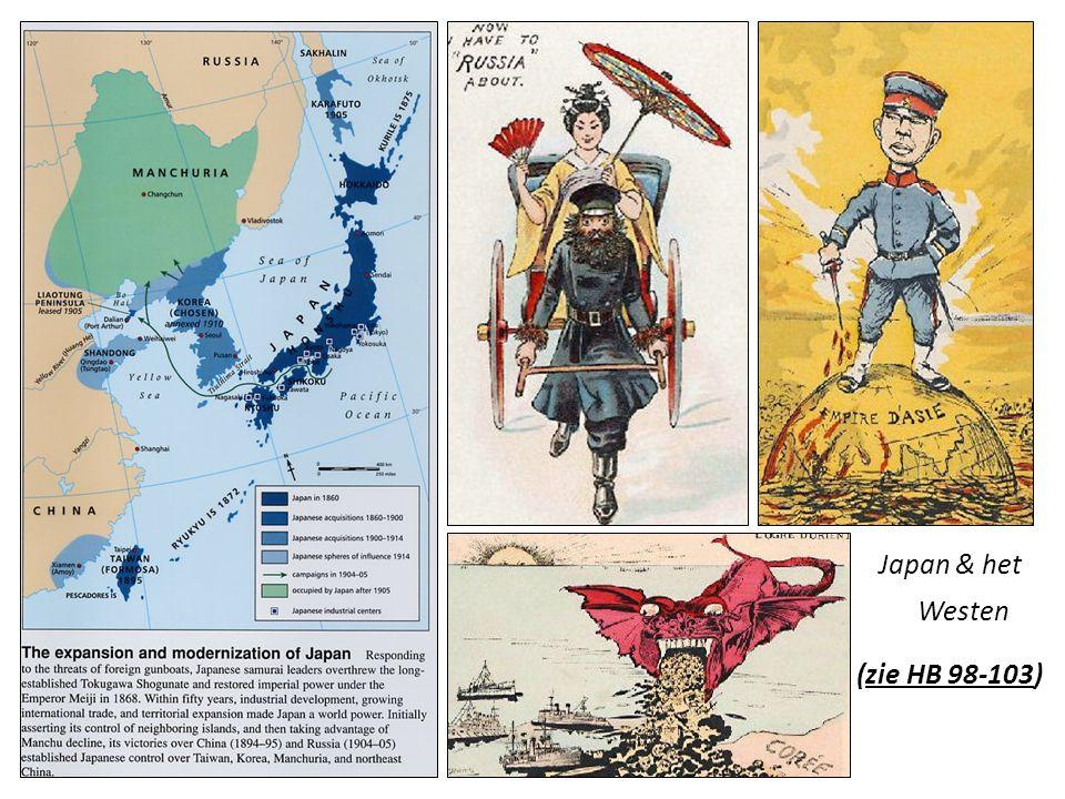 Japan & het Westen (zie HB 98-103)