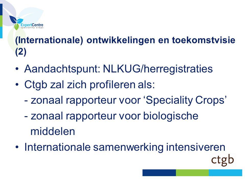 (Internationale) ontwikkelingen en toekomstvisie (2)