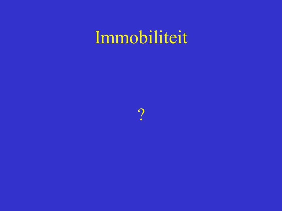 Immobiliteit