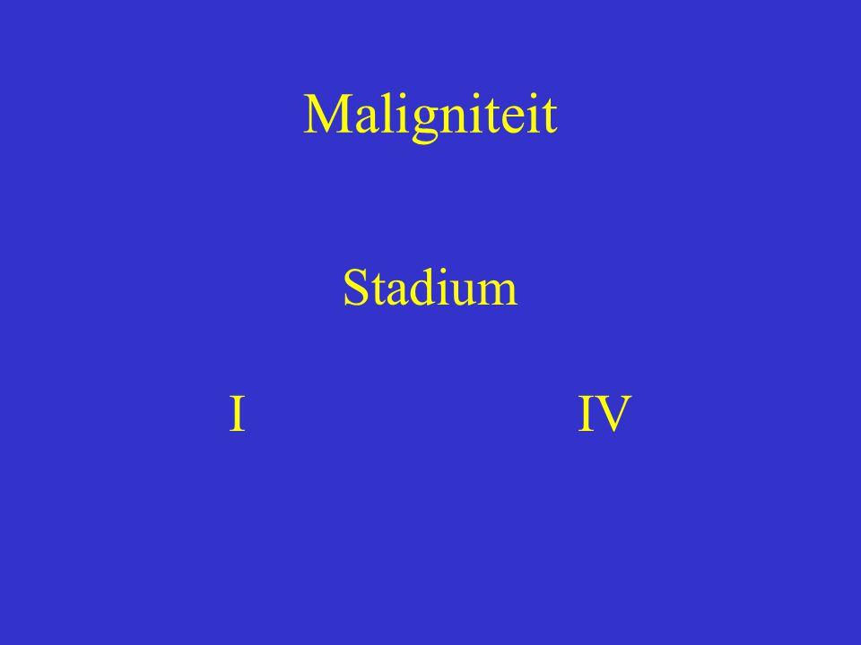 Maligniteit Stadium I IV