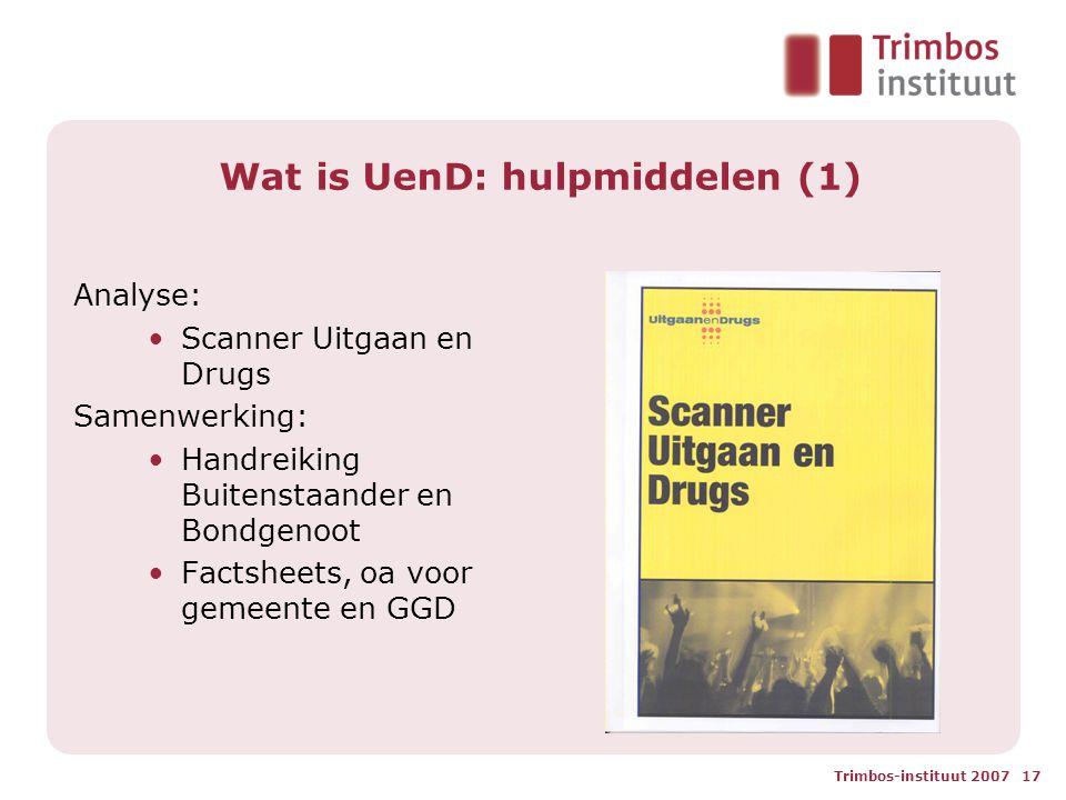 Wat is UenD: hulpmiddelen (1)