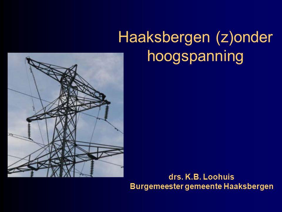 Haaksbergen (z)onder hoogspanning