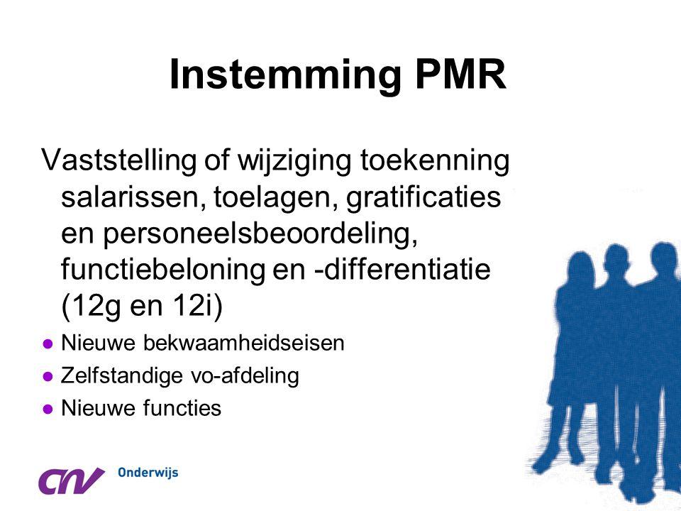 Instemming PMR