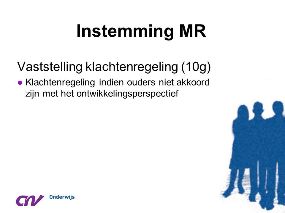 Instemming MR Vaststelling klachtenregeling (10g)