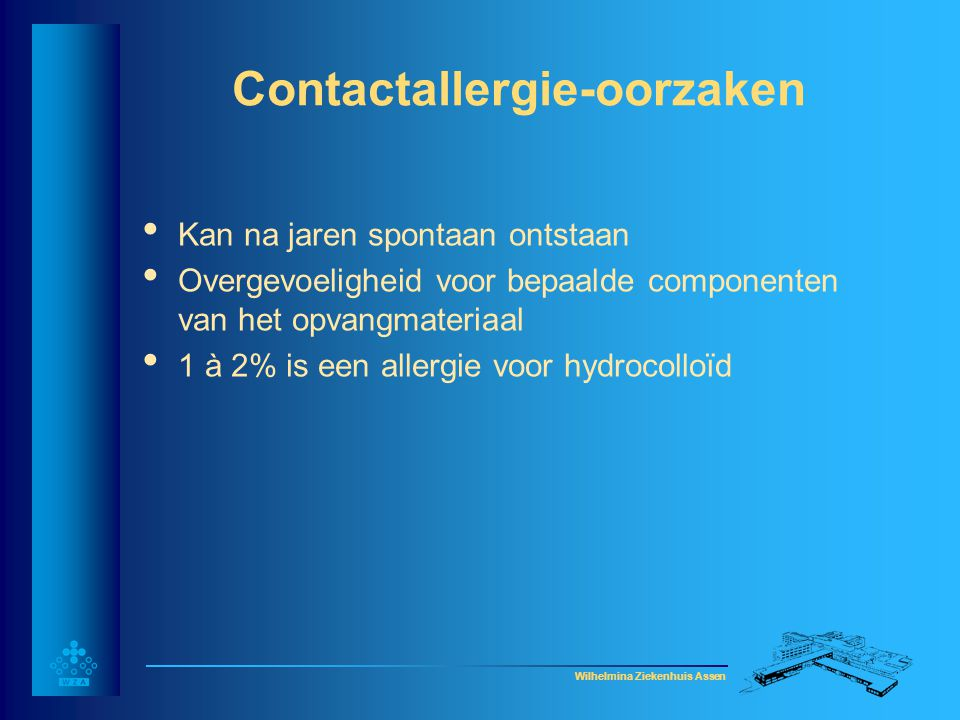 Contactallergie-oorzaken