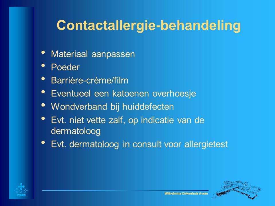 Contactallergie-behandeling