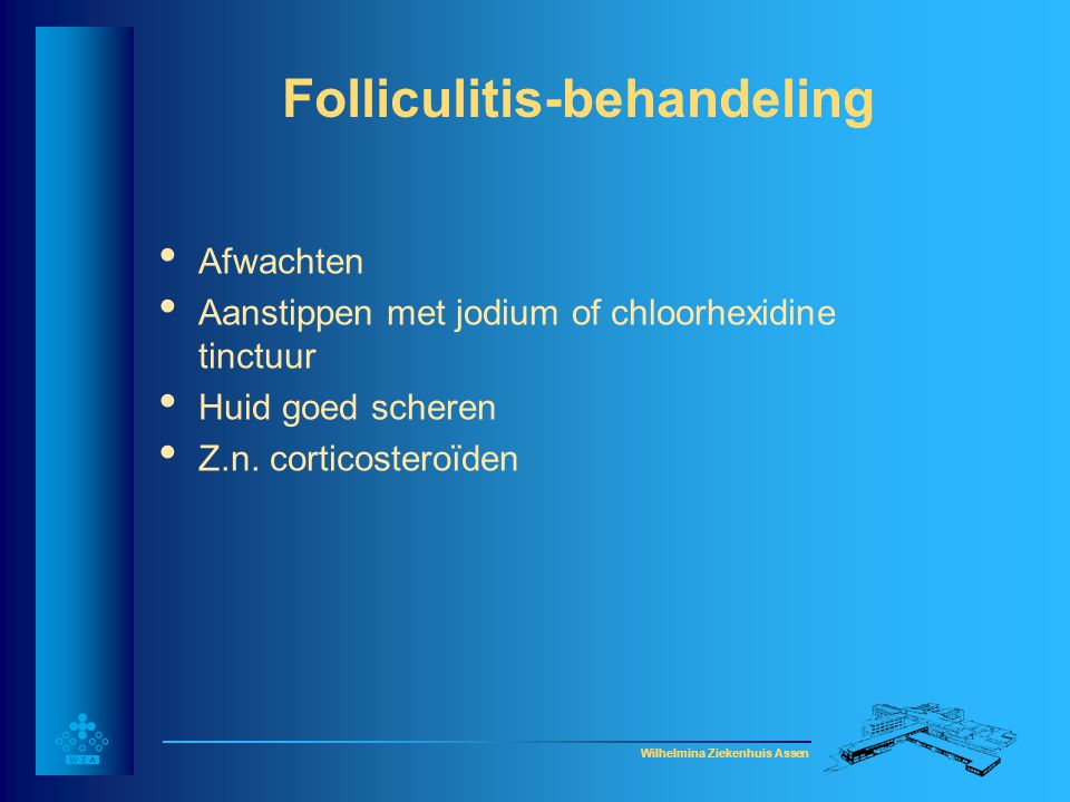 Folliculitis-behandeling