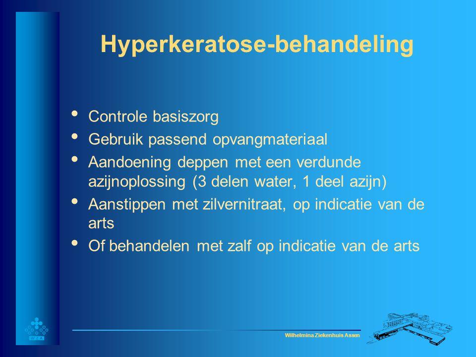 Hyperkeratose-behandeling