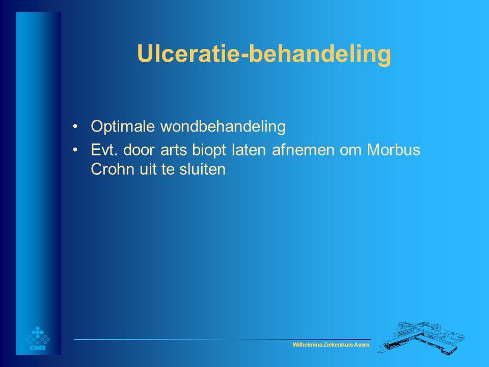 Ulceratie-behandeling