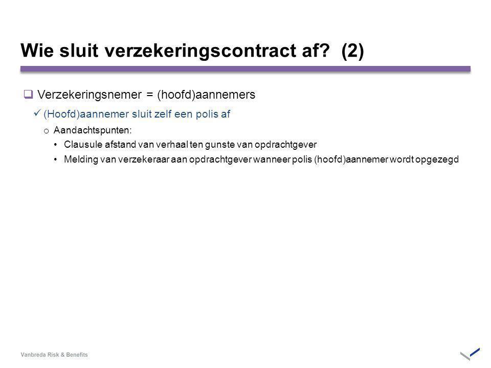 Wie sluit verzekeringscontract af (2)