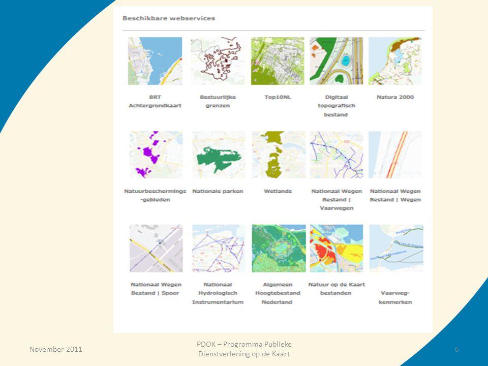 PDOK – Programma Publieke Dienstverlening op de Kaart