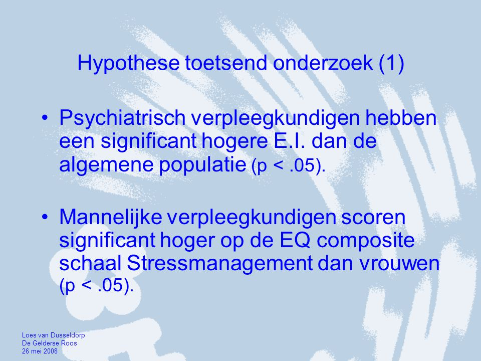 Hypothese toetsend onderzoek (1)
