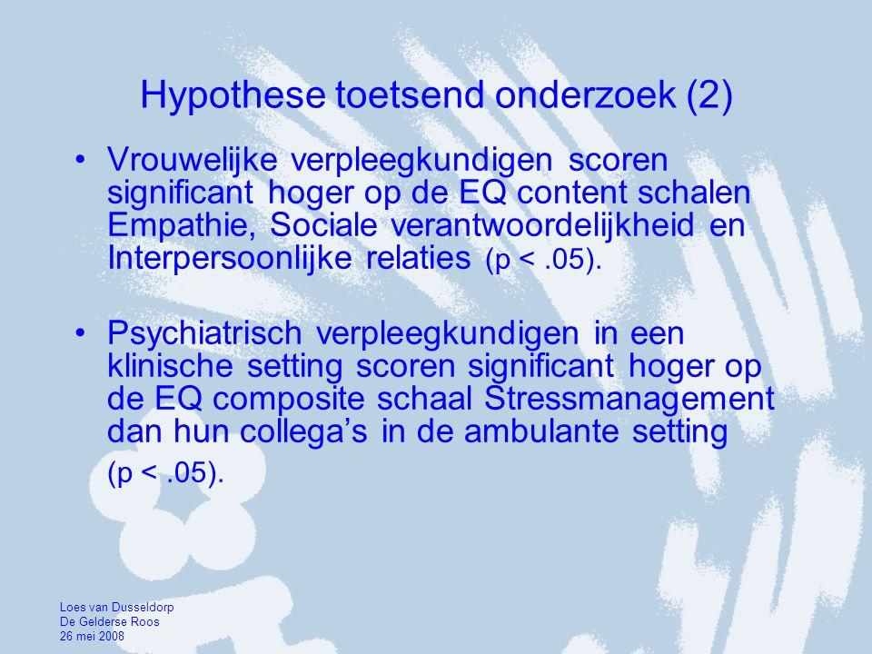 Hypothese toetsend onderzoek (2)