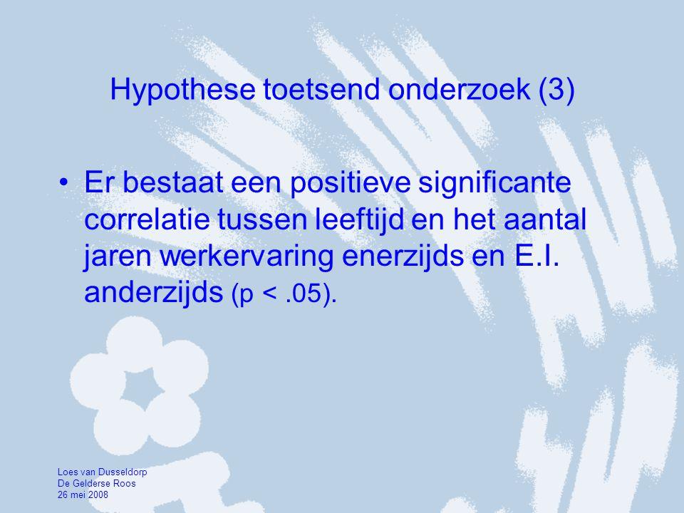 Hypothese toetsend onderzoek (3)