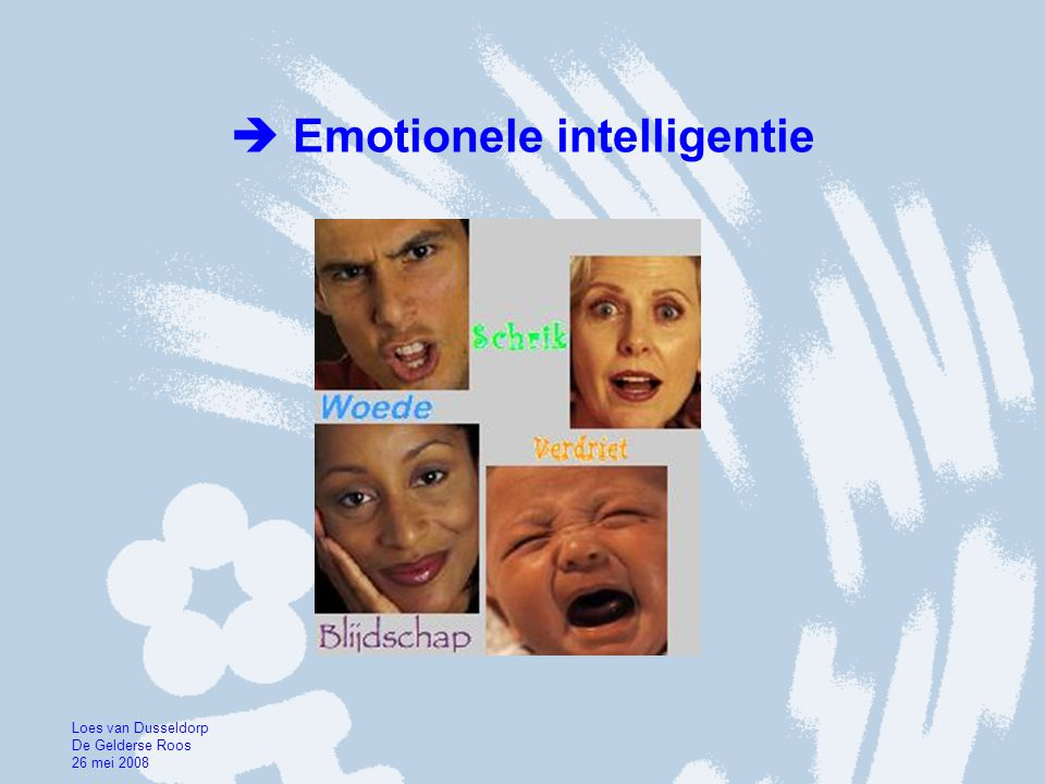  Emotionele intelligentie
