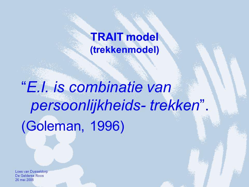 TRAIT model (trekkenmodel)