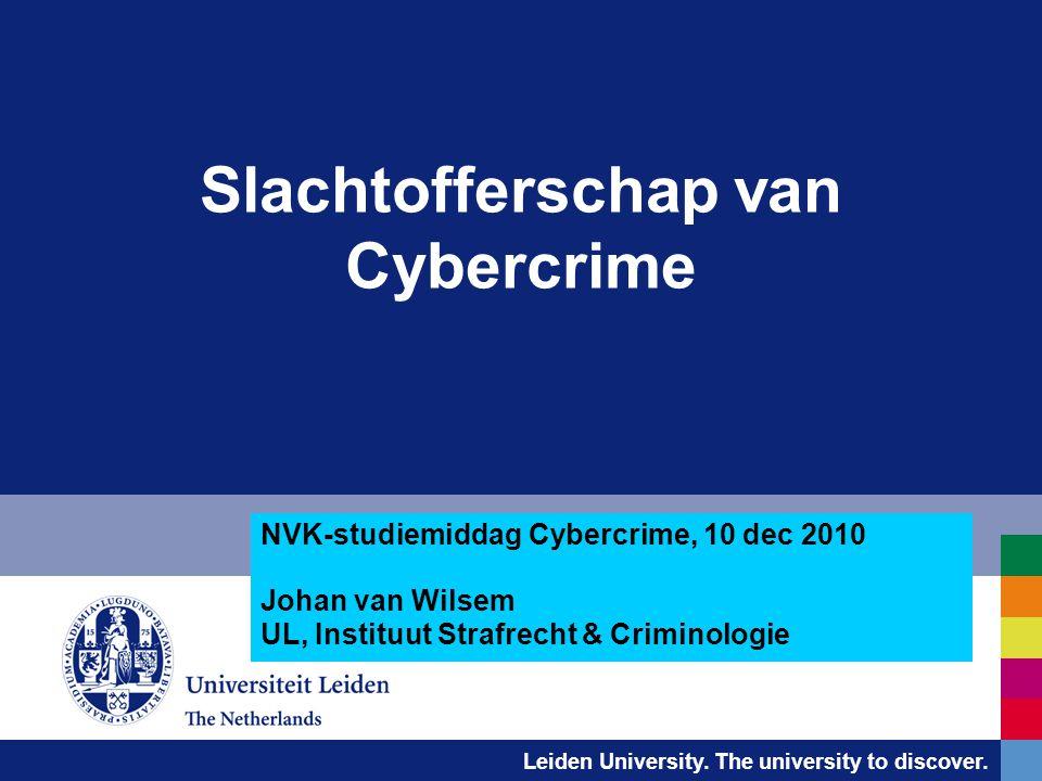 Slachtofferschap van Cybercrime