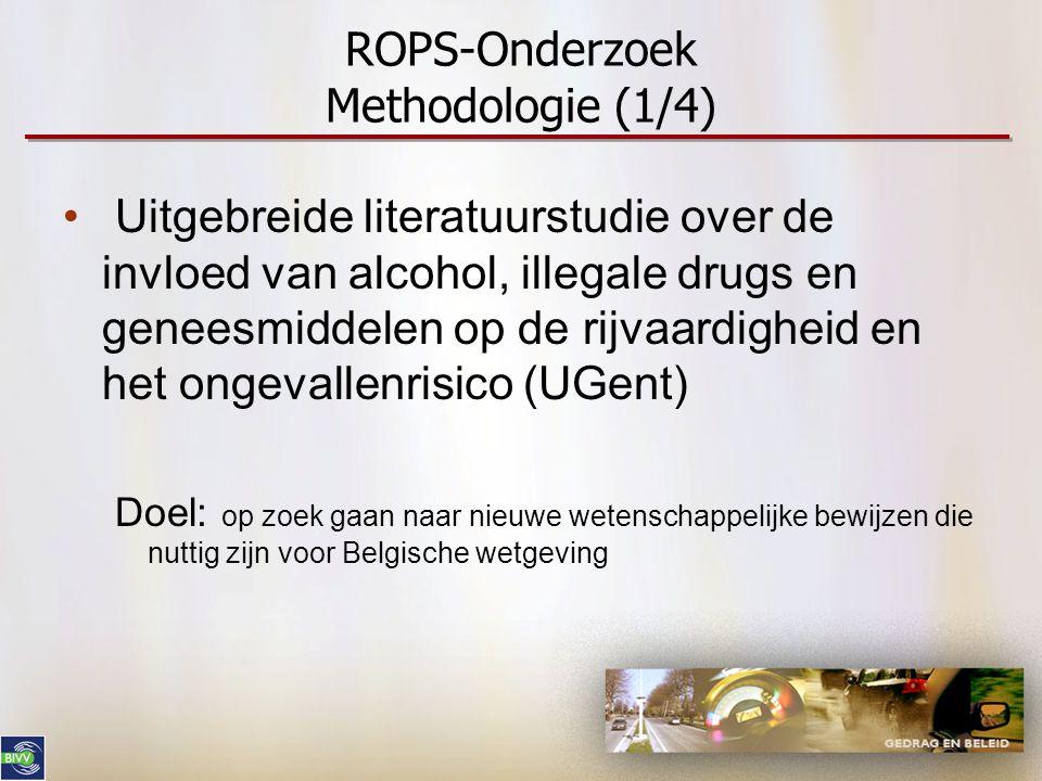 ROPS-Onderzoek Methodologie (1/4)