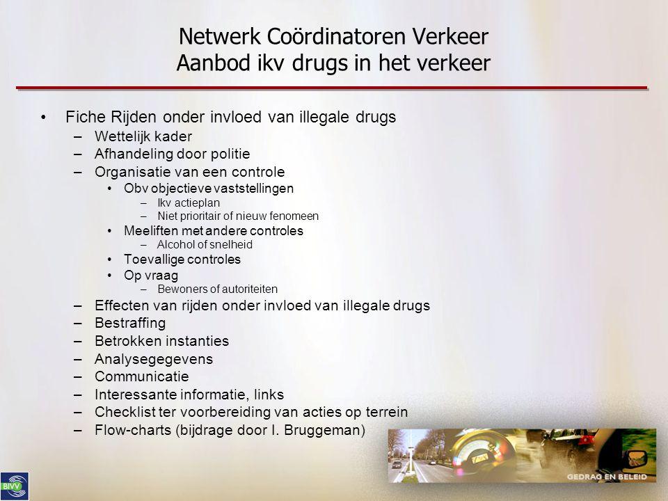 Netwerk Coördinatoren Verkeer Aanbod ikv drugs in het verkeer
