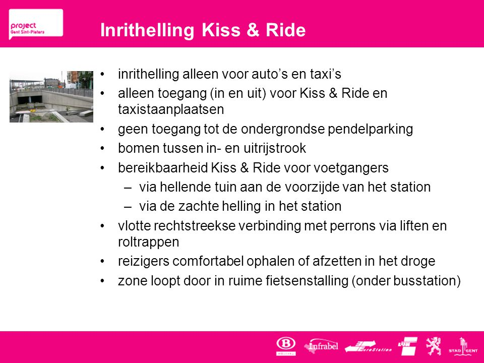 Inrithelling Kiss & Ride