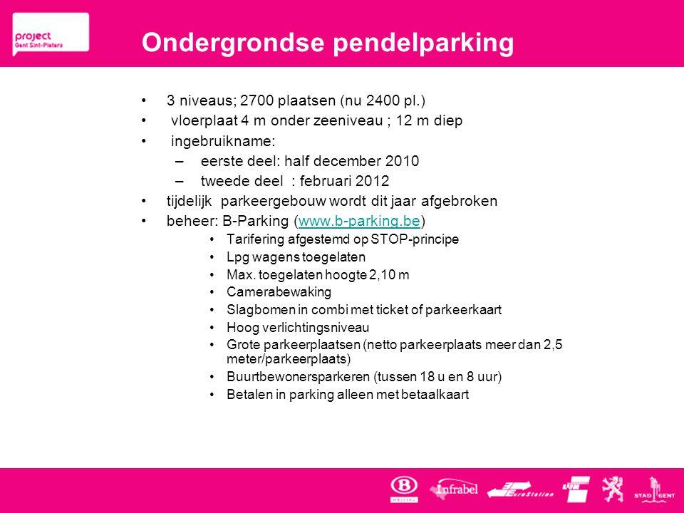 Ondergrondse pendelparking