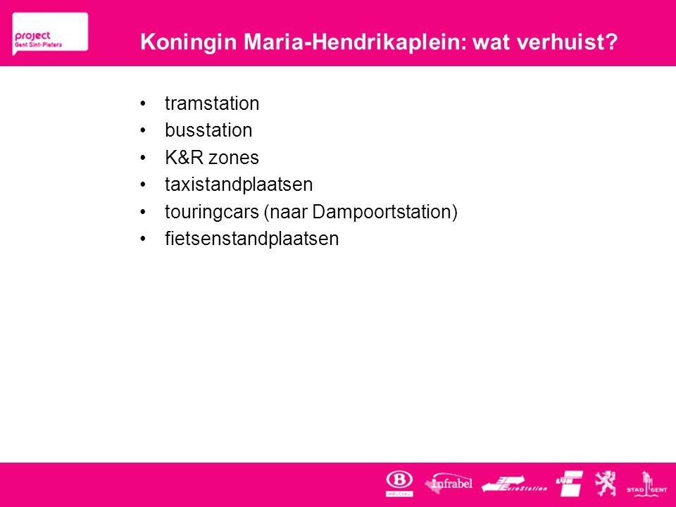 Koningin Maria-Hendrikaplein: wat verhuist