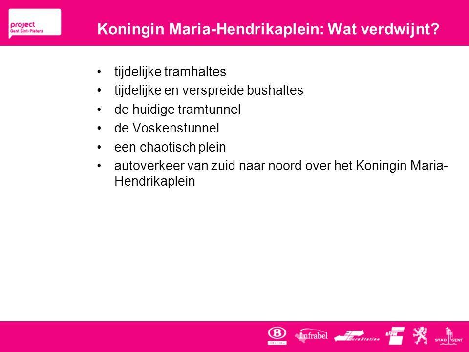 Koningin Maria-Hendrikaplein: Wat verdwijnt