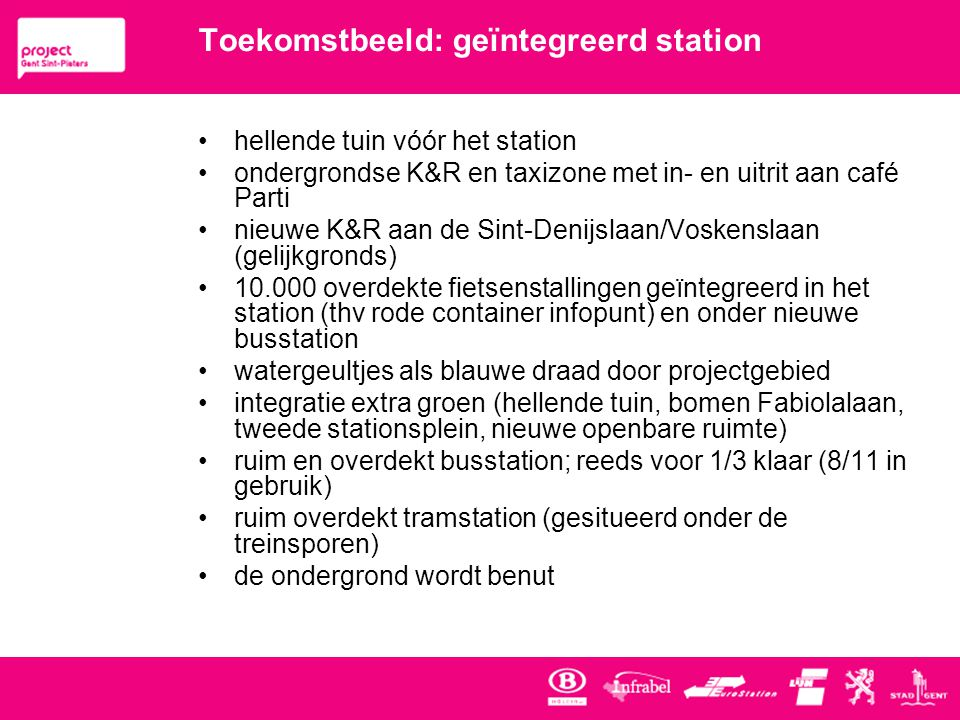 Toekomstbeeld: geïntegreerd station