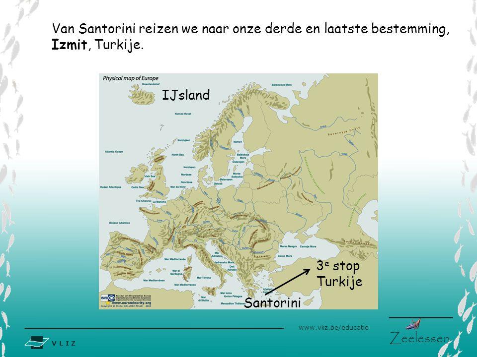 Van Santorini reizen we naar onze derde en laatste bestemming,