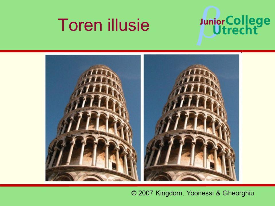 Toren illusie © 2007 Kingdom, Yoonessi & Gheorghiu