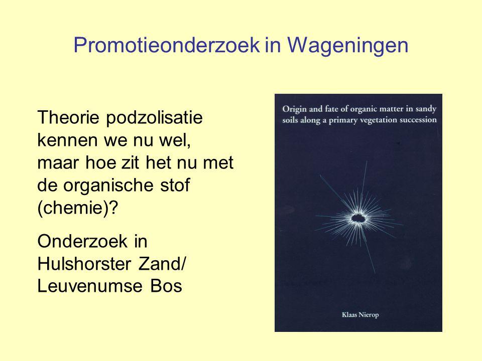 Promotieonderzoek in Wageningen
