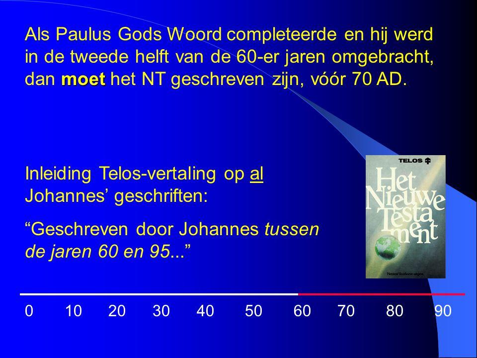 Inleiding Telos-vertaling op al Johannes' geschriften: