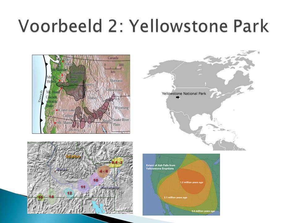 Voorbeeld 2: Yellowstone Park