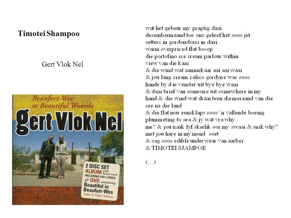 Timotei Shampoo Gert Vlok Nel